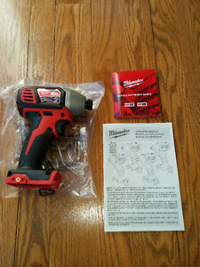 Milwaukee M18 Hex Impact Driver NEW - Visseuse percussion NEUVE