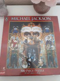Michael Jackson Dangerous 500 Piece Puzzle
