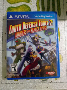 Earth Defense Force 2: Invaders from Space - PS Vita game NEW