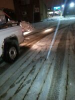 SNOW REMOVAL HAULING SANDING SWEEPING