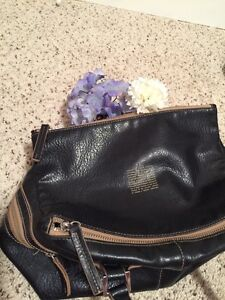 Matt & Nat Black Leather Handbag