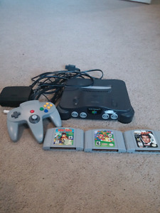 Nintendo 64 plus games