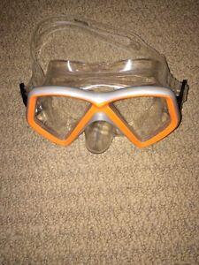 Kids snorkelling masks