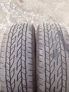 225/65R17 Continental  tires
