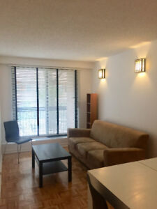 All included apt for rent just steps from McGill University