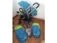 Icandy peach swee pea double / single pushchair