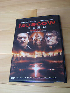 DVD -Moscow Zero -Val Kilmer&Vincent Gallo-Perfect Shape Kitchener / Waterloo Kitchener Area image 1