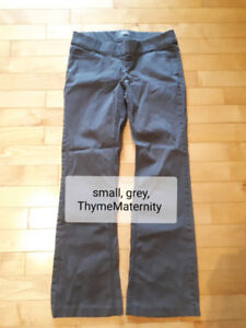 Assorted size small or xs maternity pants and shirts