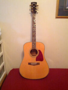 Ibanez 6-string acoustic Dreadnought guitar