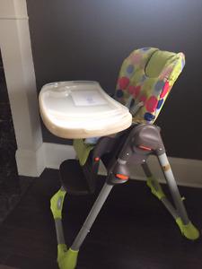 Super Clean Adjustable High Chair