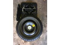 Ford Focus space saver spare wheel and tyre. 16' PIRELLI