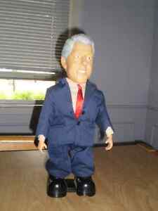 "Bill Clinton Dancing Doll - 14.5"" - U.S. President London Ontario image 4"