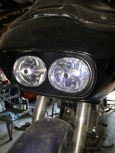 2005 harley roadglide headlight and bezel