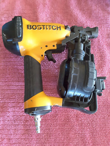 LIKE NEW BOSTITCH COIL NAILER!