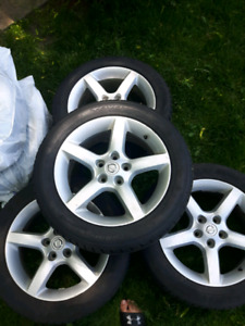 Nissan Altima 4 winter rims+ 2 summers free