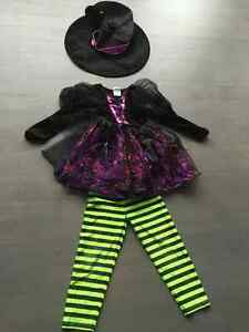 Size 5 - 6 - witch Halloween costume - youth girl