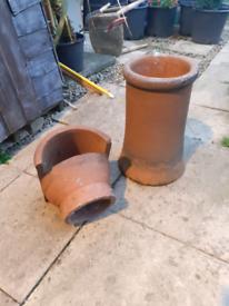 Terracotta chimney pot /cowl