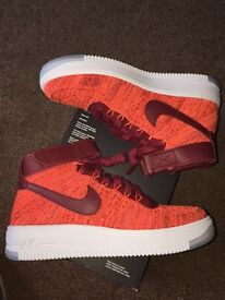 Nike airforce 1 flyknit