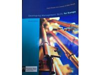 Developing Management Skills for Europe second edition