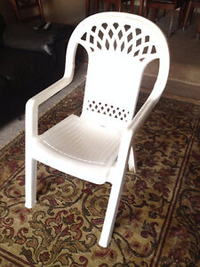 Two Plastic Chairs