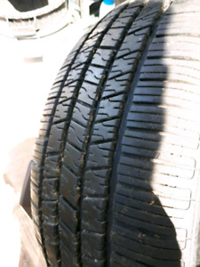P225/50R17 HANKOOK OPTIMO H725A (one only)