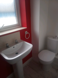 Bath & two sinks
