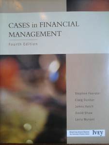CASES IN FINANCIAL MANAGEMENT Textbook
