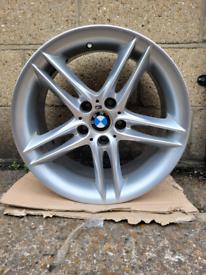 """Genuine Bmw 18"""" Z4 ( Style 224 ) Front 8J Alloy Wheel x1"""