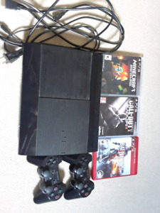 Ps3 2 controllers 3 games