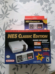 Nintendo NES Mini Classic neuve brand new sealed