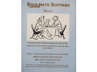 Soulmate Suppers in Suffolk....Calling all single men and women -next event May 24th Bury St Edmunds