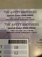 The Avett Brother with John Prine