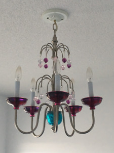 Bombay coloured chandelier