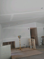 Drywall, taping and carpentry