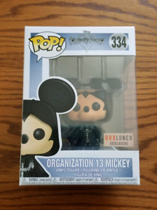 Funko Pop Disney Kingdom Hearts Organization 13 Mickey Boxlunch