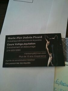 Riding Lesson Card with HFB Equitation BEST OFFER
