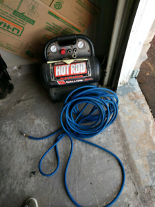 Hot Rod Air Compressor with 3 in 1 Flooring Nailer