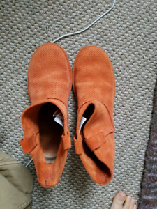 Genuine leather UGG boots