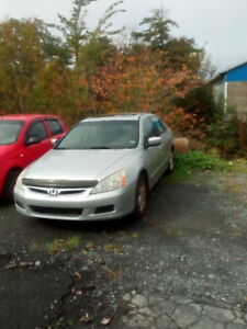 "2007 HONDA ACCORD LOADED 5SPD ONLY $3044.. CLICK ""SHOW MORE"""
