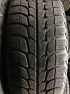 Subaru Used Steel Rims and Michelin X-Ice Snow Tires