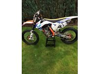 Ktm 250sxf 2013 £2700 Ono px for ktm 125 exc will add cash for right bike