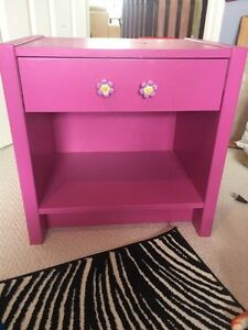 2 Pink Night Stands