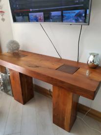 Beautiful side board in solid drift wood