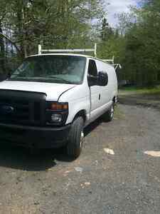 2008 Ford E-250 cargo van being sold asis