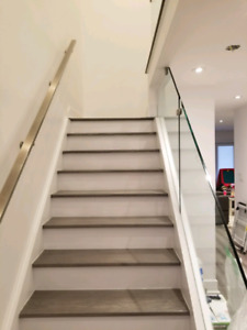 Flooring, staircase, trym and more