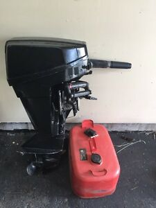9.9 hp Chrysler outboard *not running for parts*