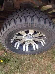 20 Inch XD Rims and Tires