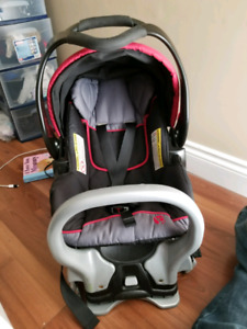 Infant car seat baby trend