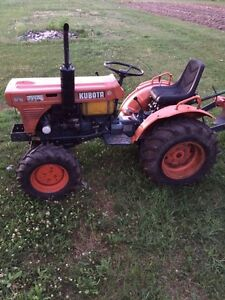 Kubota tractor priced to sell