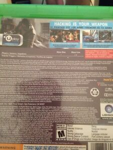 Watch dogs for Xbox one Kitchener / Waterloo Kitchener Area image 2